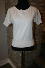Dominator Made in Czech Republic Womens Tan Short Sleeve Top SZ M