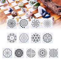 13pcs Dotting Painting Stencils Kit For Mandala DIY Stone Painting Template Set