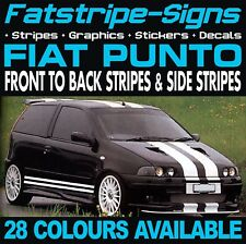 FIAT PUNTO STRIPES GRAPHICS STICKERS DECALS  1.1 1.2 1.3 1.4 1.6 1.8 VIPER SPORT