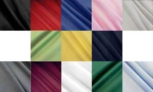 Stoff Meterware Baumwollstoff Fahnentuch Farbe wählen weiß rot blau Meterpreis