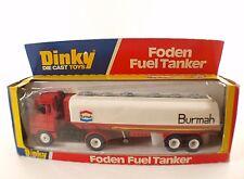 Dinky toys GB n° 950 FODEN Semi-remorque citerne BURMAH camion tanker en boite