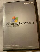 Microsoft Windows Server 2003 Standard Edition 32 Bit MS WIN