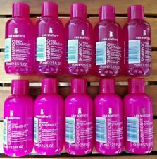 10 x 75mL Lee Stafford STRAIGHT HAIR Products (5 x Shampoo and 5 x Conditioner)