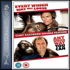 EVERY WHICH WAY BUT LOOSE AND EVERY WHICH WAY YOU CAN - 2 MOVIE COLLECTION *NEW*