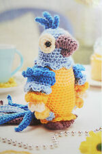 Parrot Toy Crochet Pattern BP204