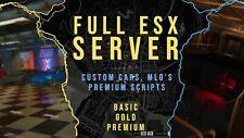 Custom FiveM Esx RP server Cheap!