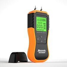 Mecurate Digital Pin Wood Moisture Meter Moisture Detector 2 Mode 8 Calibrati