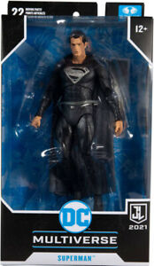 "DC Toys Multiverse Justice League 7"" Figure - Supeman (Black Suit)"