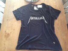 BNWT Metallica Distressed Premium Graphic T - Cotton On Size L