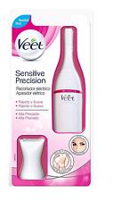 Veet Sensitive Precision - Depiladora eléctrica de pelo, 7 accesorios, color bla