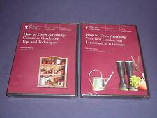 Teaching Co Great Courses DVDs  HOW TO GROW ANYTHING      set of 2    new sealed