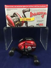 NEW! U.S. Reel - SuperCaster Invader 610 - Left Hand - Bait Casting - Boxed
