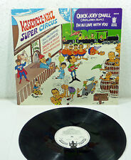 "Kasenetz-Katz Super Circus - 1969 M-/EX WL Promo BUDDAH LP ""Quick Joey Small"""