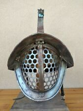 ELMO ROMANO GLADIATORE TRACE Thraex Helmet Historical reproduction Reenactent