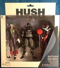 Batman Hush Joker, Harley Quinn & Stealth Batman 3 Figure Pack MINT
