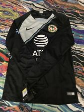 Nike Club America Gk Jersey – Black/Wolf Grey Size Small