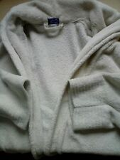 Carole Hochman Peluche Super Doux Long peignoir//robe de chambre-Textured Aqua