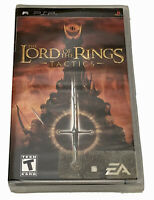 The Lord Of The Rings Tactics PSP Game New! 2005 EA PlayStation