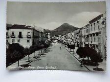 CASTROVILLARI lungo Corso Garibaldi Cosenza vecchia cartolina bis