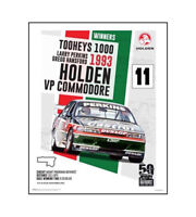 "HOLDEN COMMODORE VP POSTER - PERKINS HANSFORD 93 BATHURST - 50 x 40 cm 20"" x 16"""