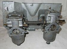 Twin VINTAGE SU Carburettor Inlet Manifold MG Original