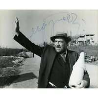 THE TRAGEDY OF A RIDICULOUS MAN Press Photo SIGNED by Ugo Tognazzi  - 7x9 in. -