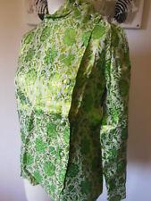 PUR VINTAGE sublime veste chemisier haut original jamais portée taille 38? B21