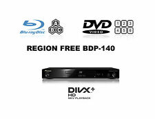 Pioneer BDP-140 3D Multi Region Free A B & C (DVD 1-8) Blu-Ray Player SACD ex
