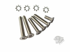 Airsoft High Quality Stainless Steel Screw Set for V3 Gearbox