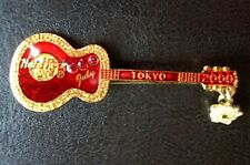 HRC hard rock cafe tokyo Calendar Guitar series 2000 July red Acoustic le