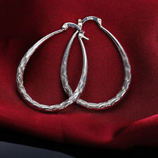 Hoops Jewelry Cheap Circle h Silver Plated Dangle Earrings Womens Fashion