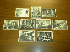 9 JAMES BOND cards (32-63) LOT Glidrose 1965 - 007 Sean Connery SECRET AGENT