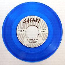 THE CHESSMAN rare BLUE vinyl doowop SAFARI Repro 45 Keeper of My Love / Why mg25
