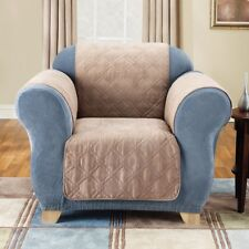 NIP Sure Fit Furniture Friend Faux-Suede Chair Pet Cover Taupe