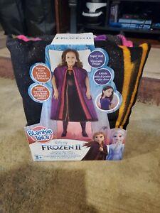 Disney Frozen 2 II Blankie Tails Adventure Anna Wearable Blanket Super Soft  NEW