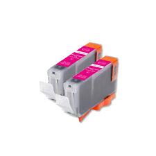 2 MAGENTA Replacement Printer Ink for CLI-8 Canon MX850 MX700 MP500 MP610 MP830