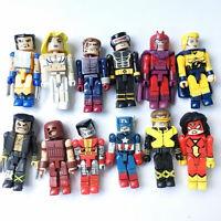 Lot 12pcs MARVEL Minimates X-MEN WOLVERINE JUGGERNAUT CYCLOPS Magneto Figure Toy
