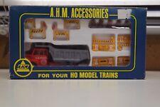 New Vintage AHM Accessories RR Construction Set  HO model trains #5614 1970's