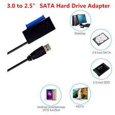 """USB 3.0 a Externo SATA 2.5""""/3.5"""" HDD SSD Cable de Adaptador Conector Disco Duro"""