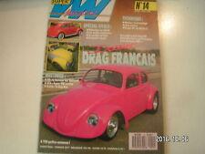 **c Super VW Magazine n°14 Drag Français / Super VW Sunday / Le Bug Run