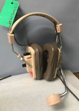Columbia Model TR-50 Headphones Film prop aviation