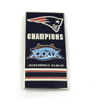 New England Patriots Super Bowl XXXIX Banner Pin