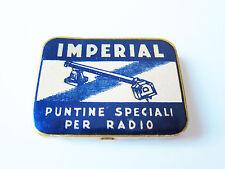 Grammophon NADELDOSE IMPERIAL PUNTINE SPECIALI gramophone needle tin
