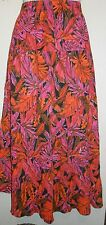 Notations Petite Tiered Gauze Skirt Spice MP NWT