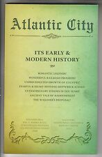 2013 BOOK - ATLANTIC CITY - ITS EARLY & MODERN HISTORY - IRVINE