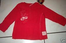 REPLAY rotes Shirt m. Knopfleiste Gr. 6 M  NEU