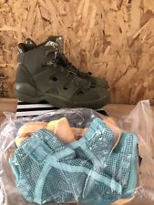 Adidas EQT B-Ball Undefeated UNDFTD Darkvena Bone sz 9.5 NIB 0077985 Olive  Green 57721d6671