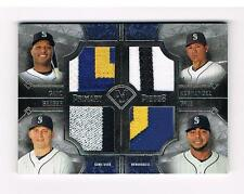 2017 TOPPS MUSEUM COLLECTION PRIMARY PIECES CANO, SEAGER, HERNANDEZ, CR, SEATTLE