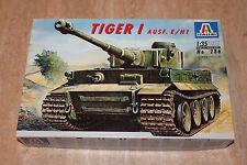 Italeri 286 Tiger I Ausf. E/H1 WW2 Panzer 1:35 NEU OVP