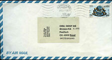 Egypt 1982 Commercial Air Mail Cover To Switzerland #C40201